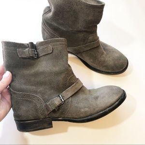 Zigi girl suede leather Chilly booties 10